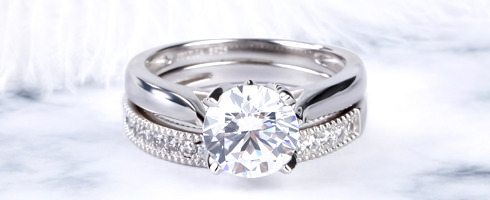 CLASSIC ROUND CUT RING SET