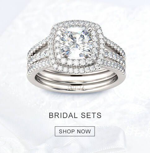 Jeulia Premium Artisan Jewelry Engagement Wedding Rings